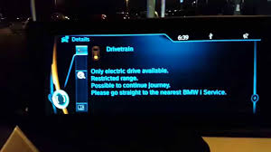 Bmw Powertrain Warning Light Living With The Bmw I3 12 Drivetrain Error