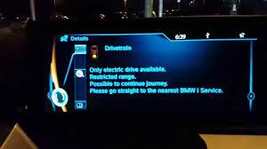 Drivetrain Warning Light Bmw 1 Series Living With The Bmw I3 12 Drivetrain Error