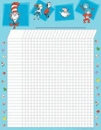 Dr Seuss Attendance Chart