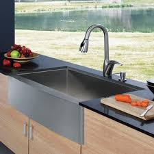 vigo farmhouse sink. VIGO Farmhouse Stainless Steel Kitchen Sink And Faucet With Vigo