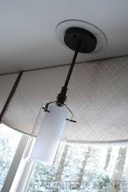 convert recessed light pendant. Easily Change A Recessed Light To Decorative Hanging Fixture - Jenna  Burger Convert Recessed Light Pendant