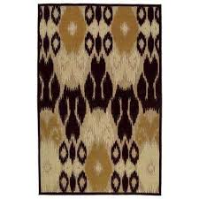 brown kaleen outdoor rugs rugs the home depot