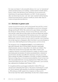 green care a conceptual framework