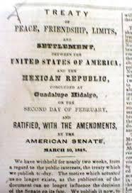 「Treaty of Cahuenga document」の画像検索結果
