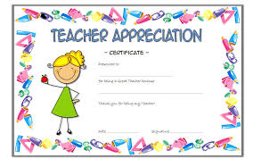 Best Teacher Award Template Teacher Appreciation Template Rome Fontanacountryinn Com