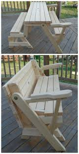 Table With Drink Trough Best 20 Garden Picnic Bench Ideas On Pinterest Picnic Table