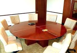 inch round table conference seats how many 84