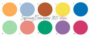 The pantone colour institute is well respected for its annual colour of the year. Spring Summer 2021 Color Trends Pantone Fabulous After 40