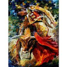 <b>Professional Artist</b> Handmade Colorful Paint <b>High Quality</b> Abstract ...