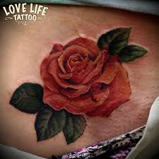 татуировка розы главная тату салон в москве Love Life Tattoo