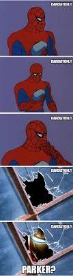 friendly neighborhood spider man spiderman meme marvel