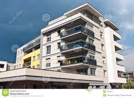 Facade Of A Modern Apartment House Stock Photo Image - Modern apartment building facade