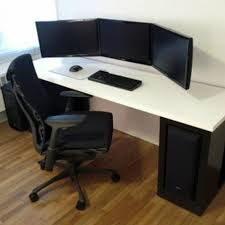 Computer Workstation Ideas Endearing Computer Workstation Ideas Impressive  Design Diy Desk With 2017