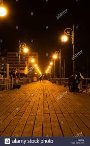 Special Lights Larnaca Larnaca Marina Jetty At Night Stock Photo 71442282 Alamy