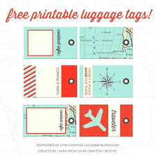Flight Luggage Tag Template Travel Tourism And Hospitality