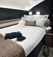 flying five star etihad s the residence comprises a living room separate double bedroom and