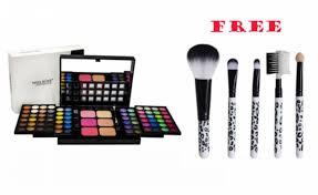 dealz a 72 colors 3d eye shadow get a free make up brush set offerhut lk