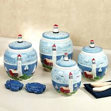 kitchen canister set ceramic lighthouse kitchen canister set black white striped ceramic kitchen canister set circa kitchen canister