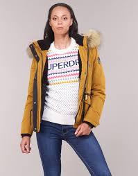 Superdry Uk Size Chart Women S Alpine Microfibre Jacket