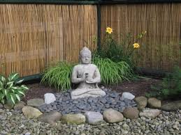 Buddhist Garden Design Decoration