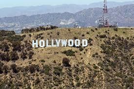 la hollywood sign