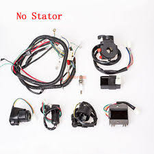 250cc cdi parts & accessories ebay Atv Wiring Harness electrics wiring harness cdi spark plug for atv quad 200 250cc dirt bike go kart wiring harness for atv