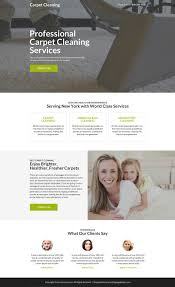 Carpet Cleaning Website Design Pin By Responsive Landing Page Design On Cleaning Service
