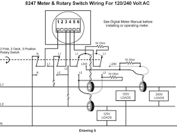 switching inputs to digital meters part ii blue sea systems it is critical that the loads be arranged as shown otherwise the 120v and 240v load currents cannot be separated wired as shown any current required can
