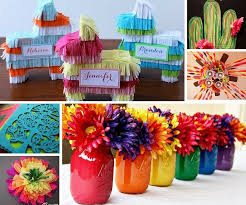 Fiesta Party Decorations Set the scene for your Mexican party with these  ideas: