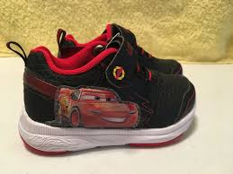 Lightning Mcqueen Light Up Sneakers Disney Pixar Cars 3 Lightning Mcqueen Boys Light Up Sneakers Toddler Size 6 New