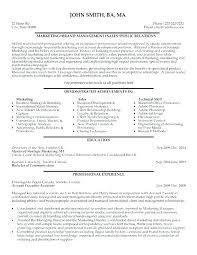 communications resume samples marketing director resume samples marketing marketing communications