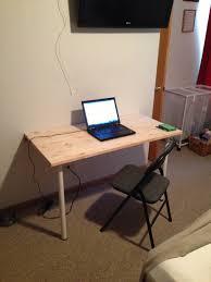 image of build wall mounted folding desk