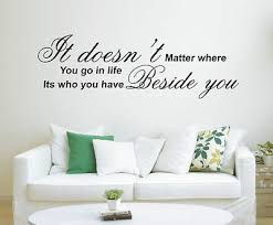 Life Quote Wall Stickers Life Quote Wall Stickers Unique Doesnt Matter Where You Go In Life 8