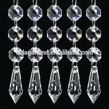 crystal beads for chandelier grade crystal glass drops icicle beads chandelier prisms chains for chandelier lamp