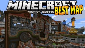 best redstone map in   mcpe rube gold berg map