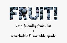 Low Carb Fruits List Searchable Guide To Carbs In Fruit