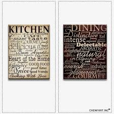 kitchen wall canvas art