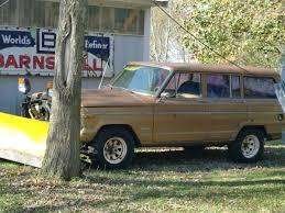 1982 jeep grand wagoneer 4x4 258 i6 auto for in kenosha 1982 kenosha wi side