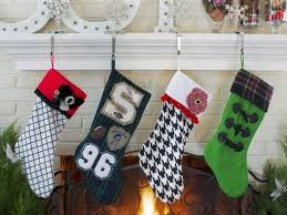 Handmade Christmas Stockings How To Make A No Sew Felt Stocking Hgtv