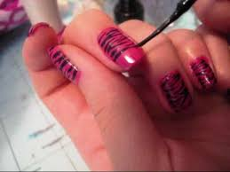 Awesome Easy Nail Art Design At Home Photos - Decorating Design ...