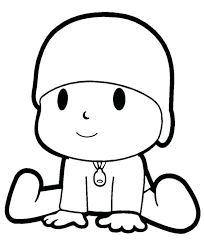 Pocoyo Coloring Page Pages The Curious Online Super