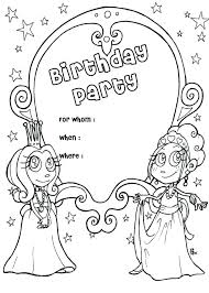 Happy Birthday Card Printable Coloring Pages Happy Birthday Cards