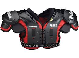 Riddell Football Shoulder Pads Size Chart Riddell Kombine Ap Shoulder Pad American Football Shop