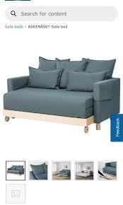 ikea askenÄset sofa bed furniture