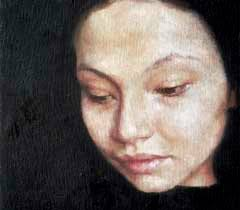 """""""Jennifer Anderson combines clear-eyed examination with formidable illusionistic skill, producing sensitive, haunting portraits. - anderson_03"""