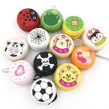 Mix Wholesale 6 <b>Pcs Cute Animal Prints</b> Wooden Ladybug Toys ...