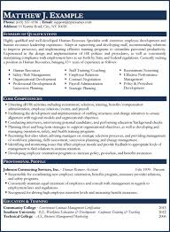 Example Hospitality Resume Custom Resume Samples Types Of Resume Formats Examples Templates