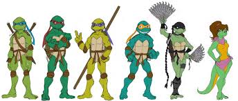 Ninja Turtles characters in Line ...