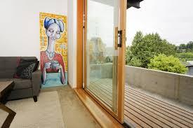 narrow sliding glass door images
