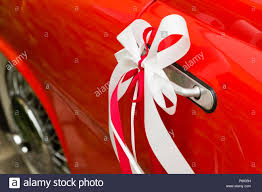 White car door handle Scratch Red And White Decorative Wedding Ribbons On Door Handle Of Red Vintage Car Freepik Red And White Decorative Wedding Ribbons On Door Handle Of Red
